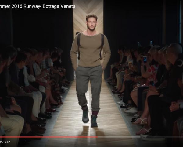 Bottega Veneta 보테가 베네타 남자 MEN 2016S/S 런웨이 쇼
